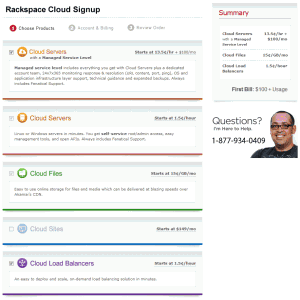 rackspace cloud pricing